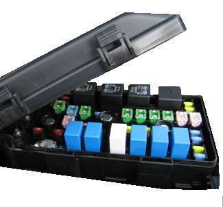generic used - 2013 jaguar xj - engine fuse box